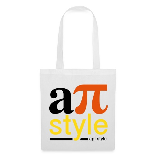 Sac tissu biologique Apistyle - Tote Bag