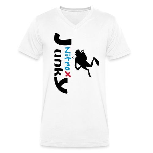 Nitrox Junky - Männer Bio-T-Shirt mit V-Ausschnitt von Stanley & Stella
