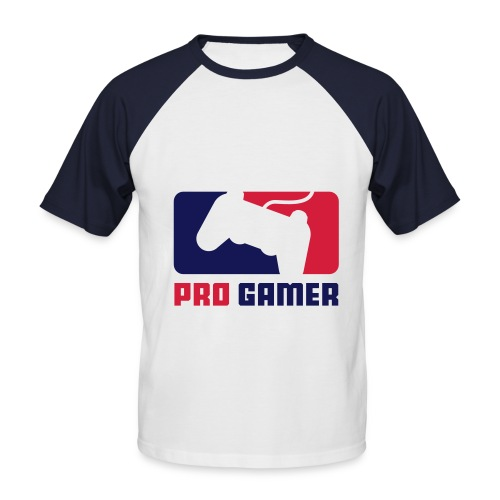 Pro Gamer - T-shirt baseball manches courtes Homme