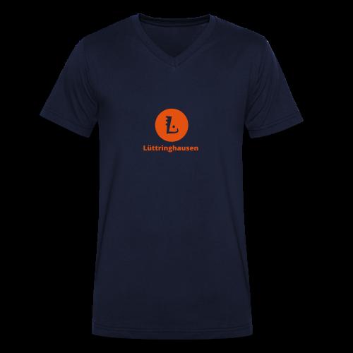L-Tag Lüttringhausen - Männer Bio-T-Shirt mit V-Ausschnitt von Stanley & Stella
