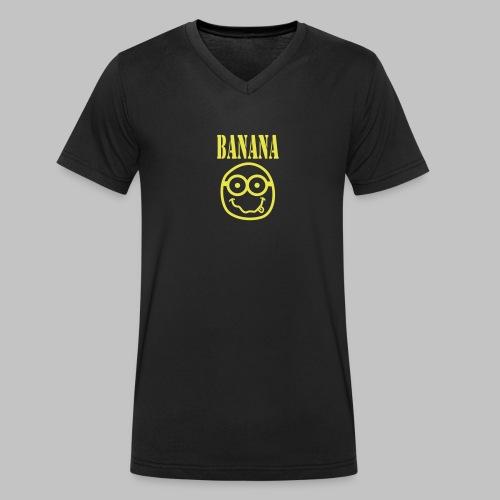 Tshirt homme Col V (man) Bananirvana - Men's Organic V-Neck T-Shirt by Stanley & Stella