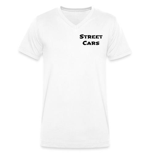 Street Cars - V-Hals Man (Zwart) - Mannen bio T-shirt met V-hals van Stanley & Stella