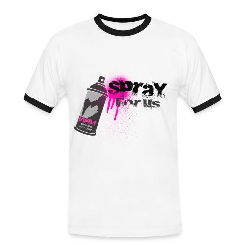 Simple-Graf Homme - T-shirt contrasté Homme