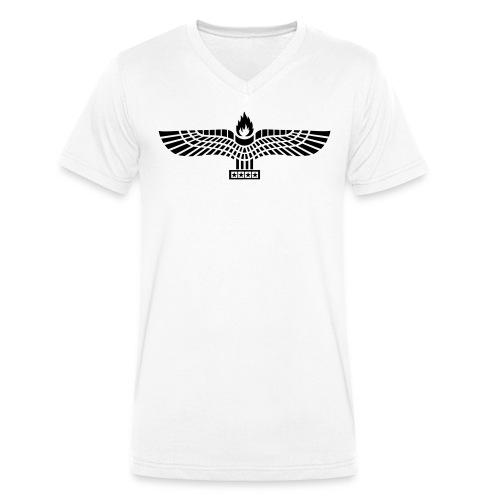 Aramäer Adler - Männer Bio-T-Shirt mit V-Ausschnitt von Stanley & Stella