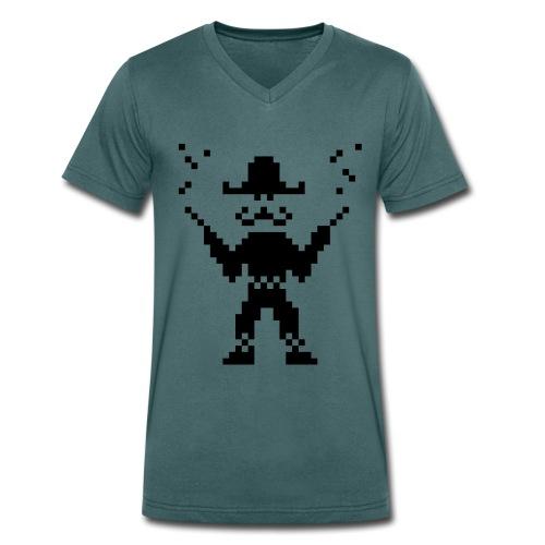 Mexican V Men - Men's Organic V-Neck T-Shirt by Stanley & Stella