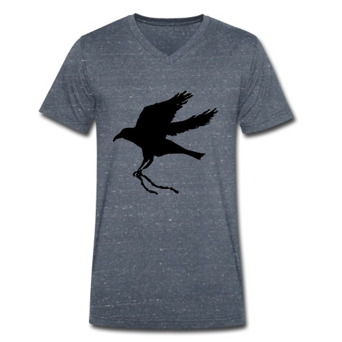 Raven Chain V Men - Men's Organic V-Neck T-Shirt by Stanley & Stella