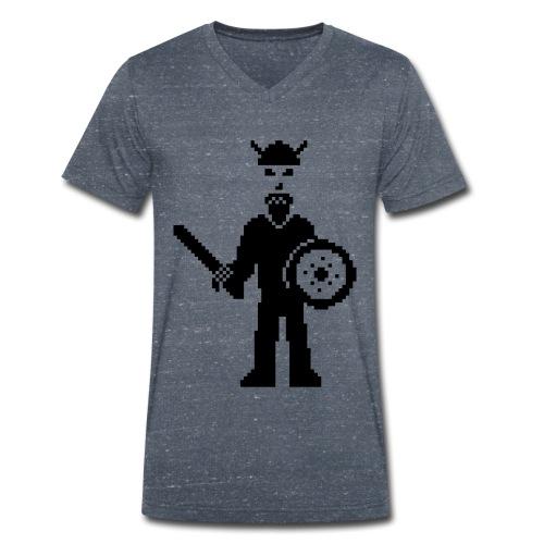 Viking V Men - Men's Organic V-Neck T-Shirt by Stanley & Stella