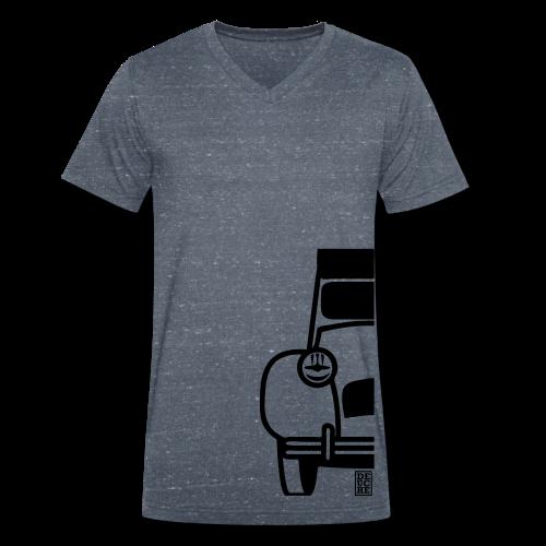 Mi-Deuche - T-shirt bio col V Stanley & Stella Homme