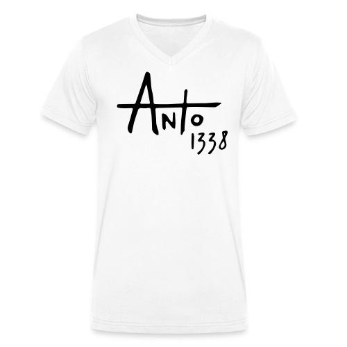 Anto1338 col V clair - T-shirt bio col V Stanley & Stella Homme