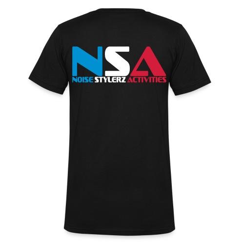 T-shirt Col V Homme NSA France - T-shirt bio col V Stanley & Stella Homme