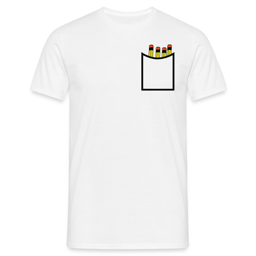 tshirt homme crayon - T-shirt Homme