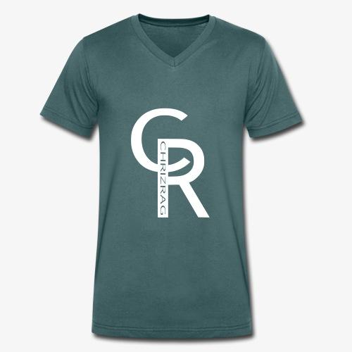 CHRIZRAG - Männer Bio-T-Shirt mit V-Ausschnitt von Stanley & Stella
