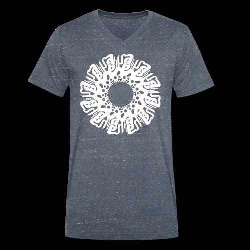 """Mandala SOHAM """"sanskrity"""" - Männer Bio-T-Shirt mit V-Ausschnitt von Stanley & Stella"""