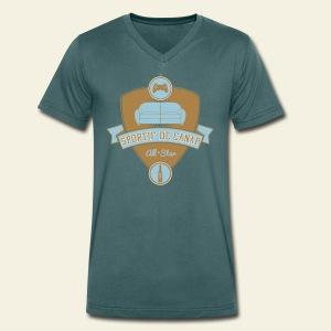 Sportif de Canap - T-shirt bio col V Stanley & Stella Homme