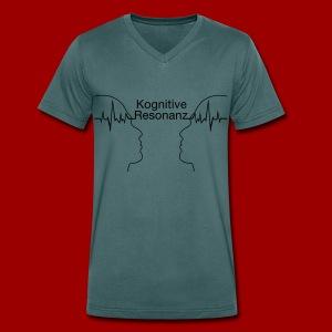 T-Shirt Kognitive Resonanz (Men) - Männer Bio-T-Shirt mit V-Ausschnitt von Stanley & Stella