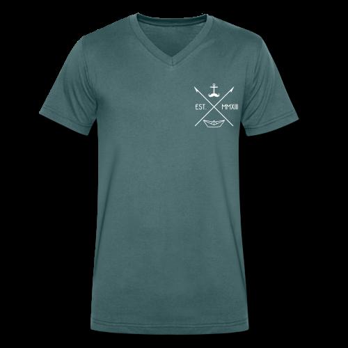harpunen // jungs - Männer Bio-T-Shirt mit V-Ausschnitt von Stanley & Stella