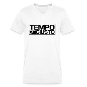 Men V-Neck - Men's Organic V-Neck T-Shirt by Stanley & Stella