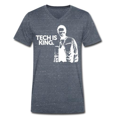Men TIK V-Neck - Men's Organic V-Neck T-Shirt by Stanley & Stella