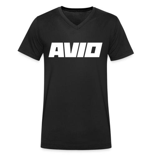 T-Shirt AVIO - Mannen bio T-shirt met V-hals van Stanley & Stella