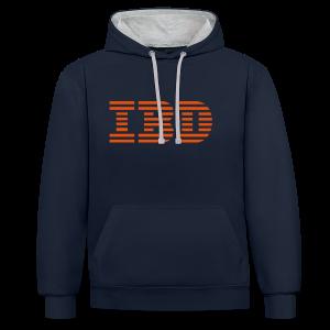 BD IBD Hoodie - Kontrast-Hoodie