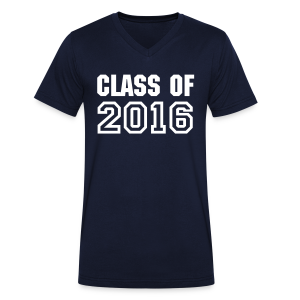 Class of 2016 - Men's Organic V-Neck T-Shirt by Stanley & Stella