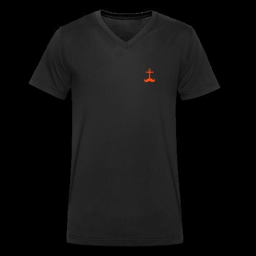 neon // jungs - Männer Bio-T-Shirt mit V-Ausschnitt von Stanley & Stella