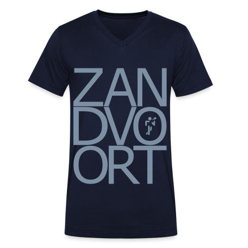 Zandvoort T-Shirt 1 - Männer Bio-T-Shirt mit V-Ausschnitt von Stanley & Stella