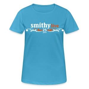SMITHY 25 Jahre - Frauen Premium Rundhals - Frauen T-Shirt atmungsaktiv