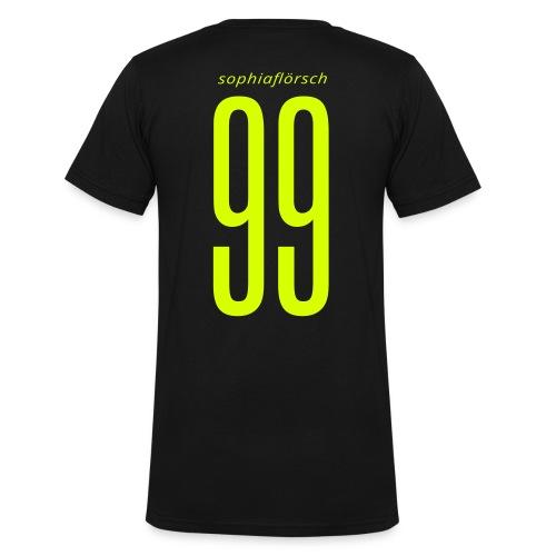 SF VShirt Men - Männer Bio-T-Shirt mit V-Ausschnitt von Stanley & Stella