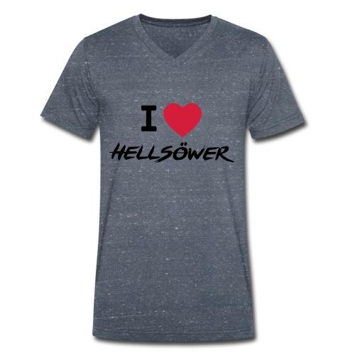FanBoy 17 - light grey - Männer Bio-T-Shirt mit V-Ausschnitt von Stanley & Stella