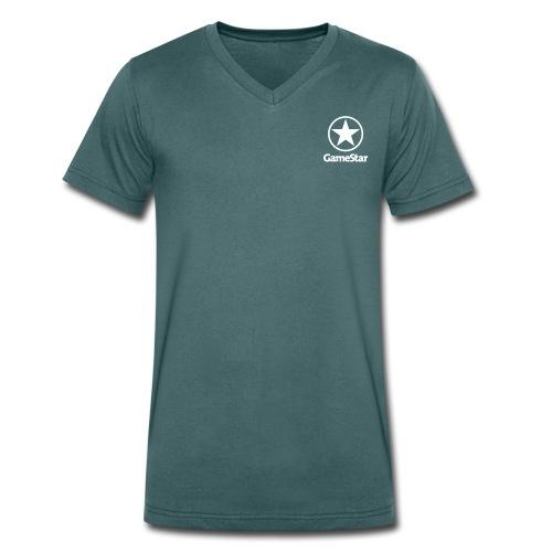 GameStar T-Shirt V-Ausschnitt - Männer Bio-T-Shirt mit V-Ausschnitt von Stanley & Stella
