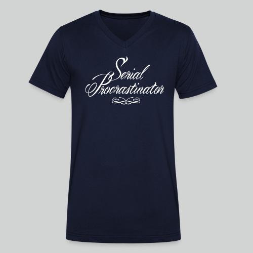 Serial Procrastinator - T-shirt bio col V Stanley & Stella Homme