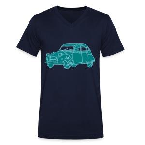 Ente 2CV - Männer Bio-T-Shirt mit V-Ausschnitt von Stanley & Stella
