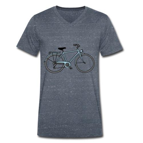 Fahrrad 3 - Männer Bio-T-Shirt mit V-Ausschnitt von Stanley & Stella