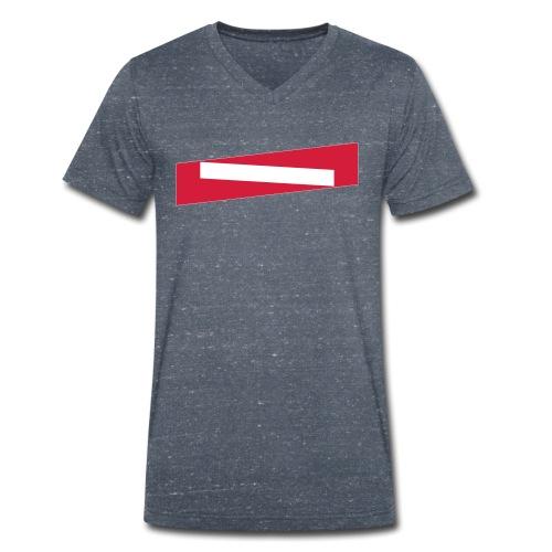LGS-ONE - Männer Bio-T-Shirt mit V-Ausschnitt von Stanley & Stella