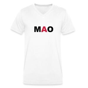 MAO - Männer Bio-T-Shirt mit V-Ausschnitt von Stanley & Stella