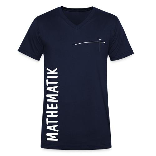 FS Mathe OL Herren Mathematik V-Ausschnitt Navy - Männer Bio-T-Shirt mit V-Ausschnitt von Stanley & Stella