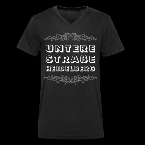 Untere Straße Heidelberg [m] - Männer Bio-T-Shirt mit V-Ausschnitt von Stanley & Stella