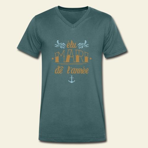 Elu Mari de l'Année - T-shirt bio col V Stanley & Stella Homme