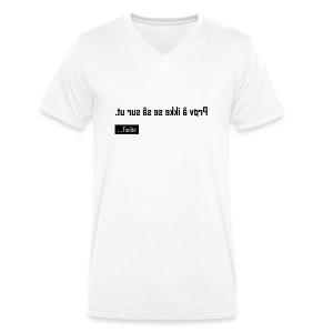 No 3 - Men's Organic V-Neck T-Shirt by Stanley & Stella