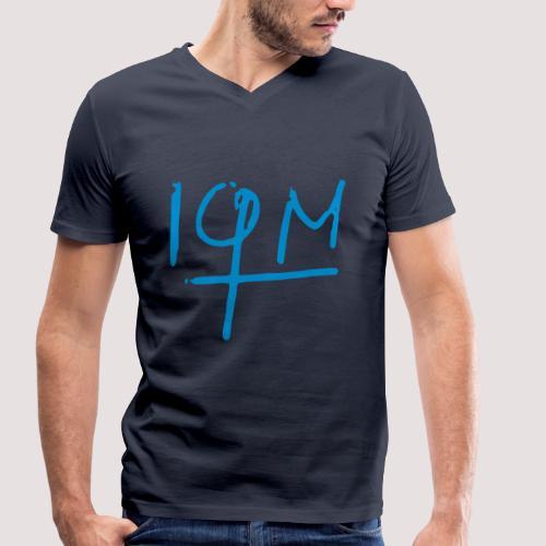IQM Herren TShirt - Männer Bio-T-Shirt mit V-Ausschnitt von Stanley & Stella