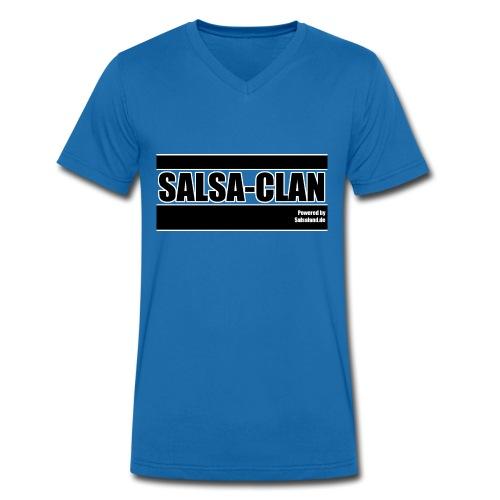 Salsa Clan - Männer Bio-T-Shirt mit V-Ausschnitt von Stanley & Stella