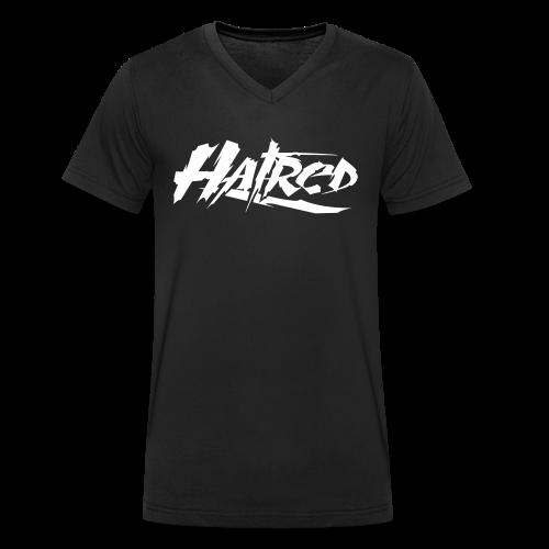 Hatred Shirt Logo V-Ausschnit - Männer Bio-T-Shirt mit V-Ausschnitt von Stanley & Stella