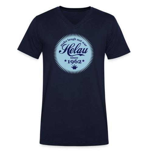 Helau 55 Jahre KVG - Männer Bio-T-Shirt mit V-Ausschnitt von Stanley & Stella