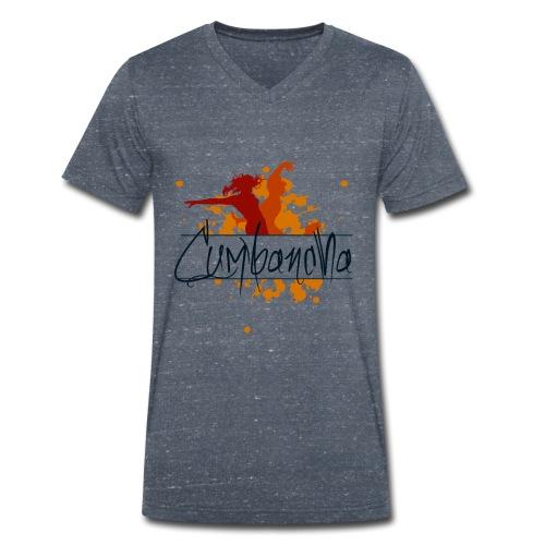 Cumbancha - Männer Bio-T-Shirt mit V-Ausschnitt von Stanley & Stella