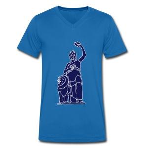 Bavaria in München 2 - Männer Bio-T-Shirt mit V-Ausschnitt von Stanley & Stella