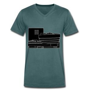 Guggenheim Museum New York 2 - Männer Bio-T-Shirt mit V-Ausschnitt von Stanley & Stella