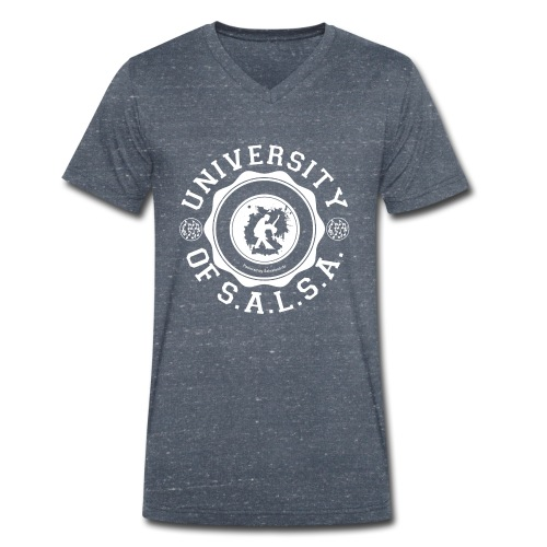 University of Salsa - Männer Bio-T-Shirt mit V-Ausschnitt von Stanley & Stella