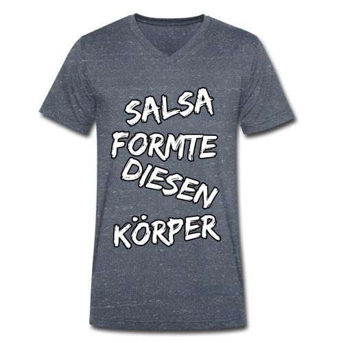 Salsa formte diesen Körper - Männer Bio-T-Shirt mit V-Ausschnitt von Stanley & Stella