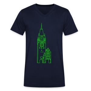 Martinstor Freiburg - Männer Bio-T-Shirt mit V-Ausschnitt von Stanley & Stella
